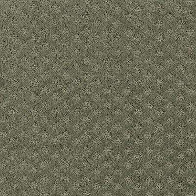 Carpet Sample - Lilypad - Color Forest Canopy Pattern 8 in. x 8 in.