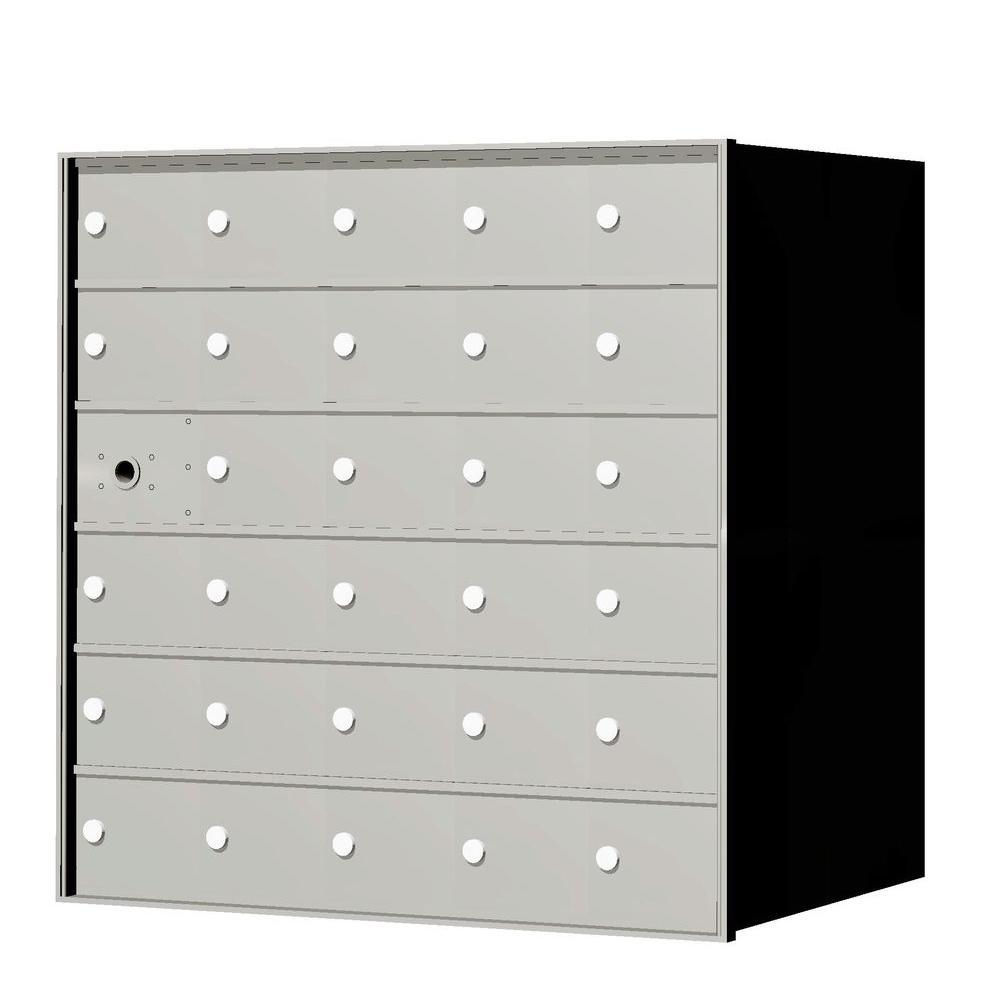 1,400 series 29-Compartment Recess-Mount Horizontal Mailbox