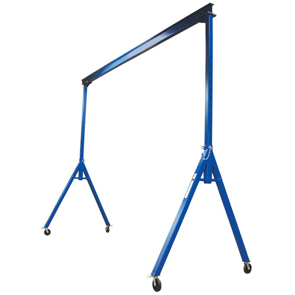 Vestil 4,000 lb. 20 ft. x 16 ft. Adjustable Height Steel Gantry Crane by Vestil