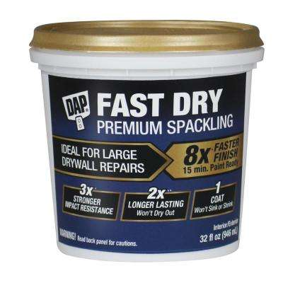 Fast Dry 32 oz. Spackling Paste