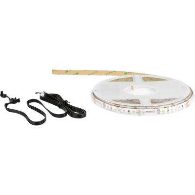 Hide-a-Lite LED Tape 20 ft. LED Silicone Tape Under Cabinet Reel 3000K, Field Cuttable Every 4 in.