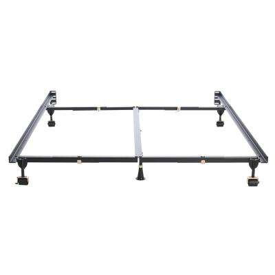 Premium Clamp Style Queen Adjustable All Sizes Bed Frame with 6-Legs