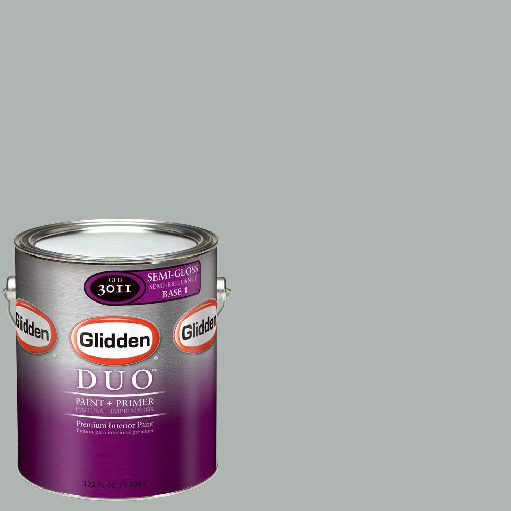 Glidden DUO Martha Stewart Living 1-gal. #MSL269-01F Winters Day Semi-Gloss Interior Paint with Primer-DISCONTINUED