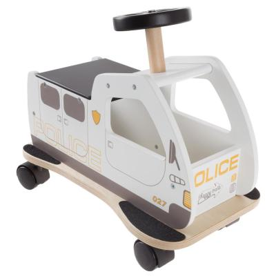 Police Car Ride-on Toy Box