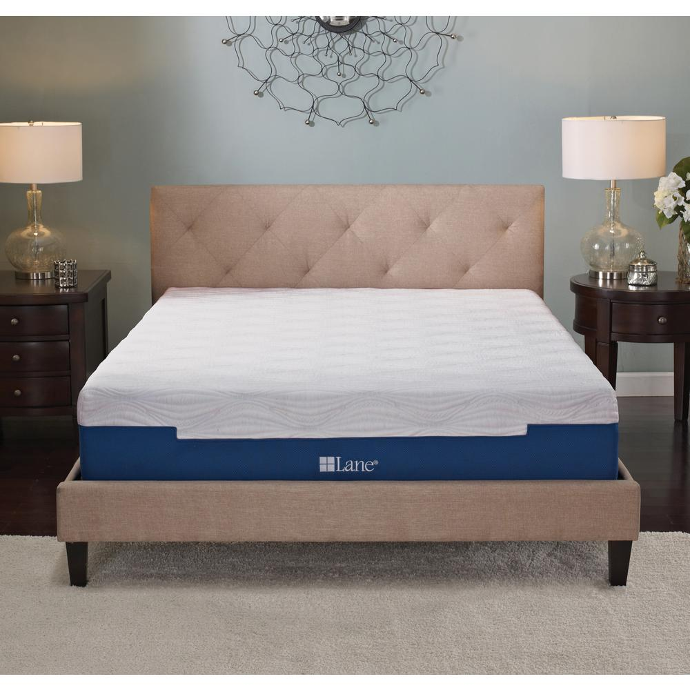 Lane 7 In Twin Size Memory Foam Mattress Rrlmf7tw The Home Depot