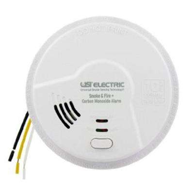 3-in-1 Smoke Fire and Carbon Monoxide Alarm with 10-Year Sealed Battery