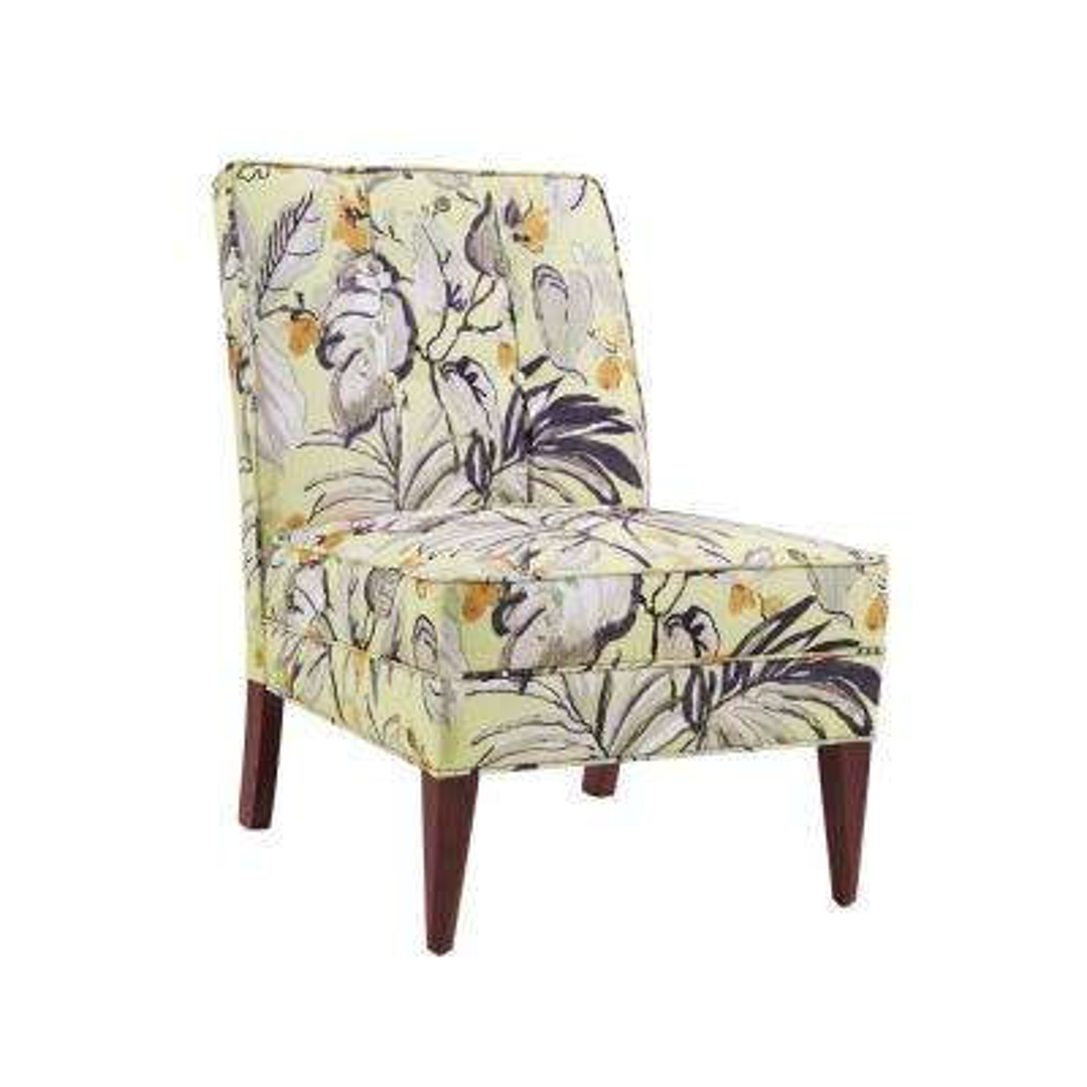 Carter Floral Slipper Chair