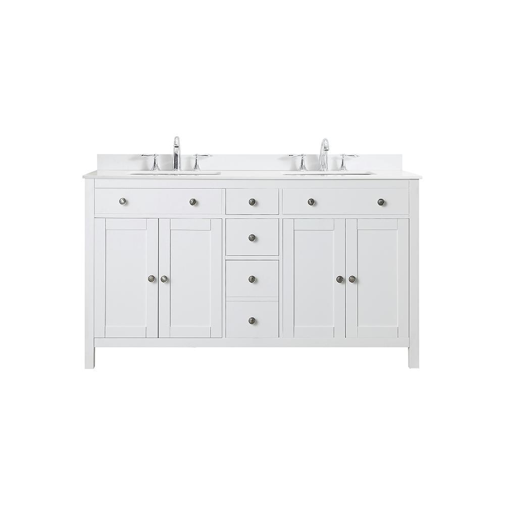 60 inch vanities double sink bathroom vanities bath the home rh homedepot com