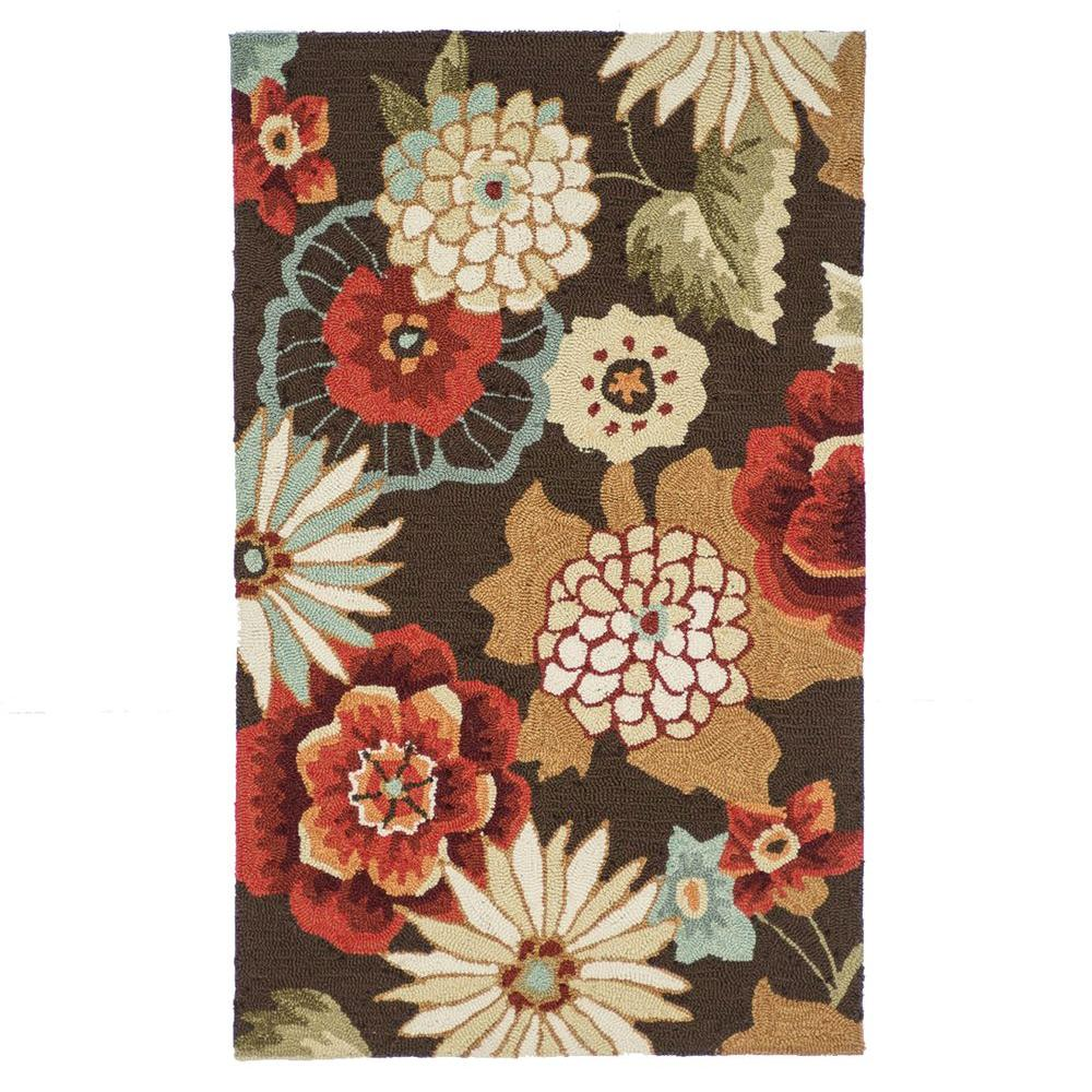 Loloi Rugs Summerton Life Style Collection Chestnut 2 ft. 3 in. x 3 ft. 9 in. Accent Rug