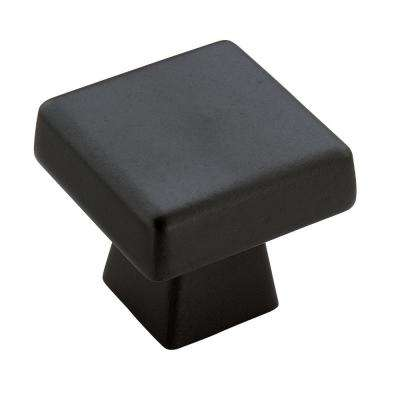 Blackrock 1-1/2 in (38 mm) Length Black Bronze Cabinet Knob