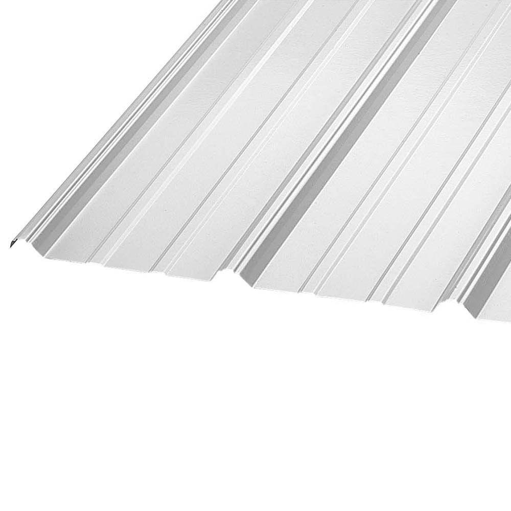 Perfect Galvanized Steel Roof Panel 07085   The Home Depot