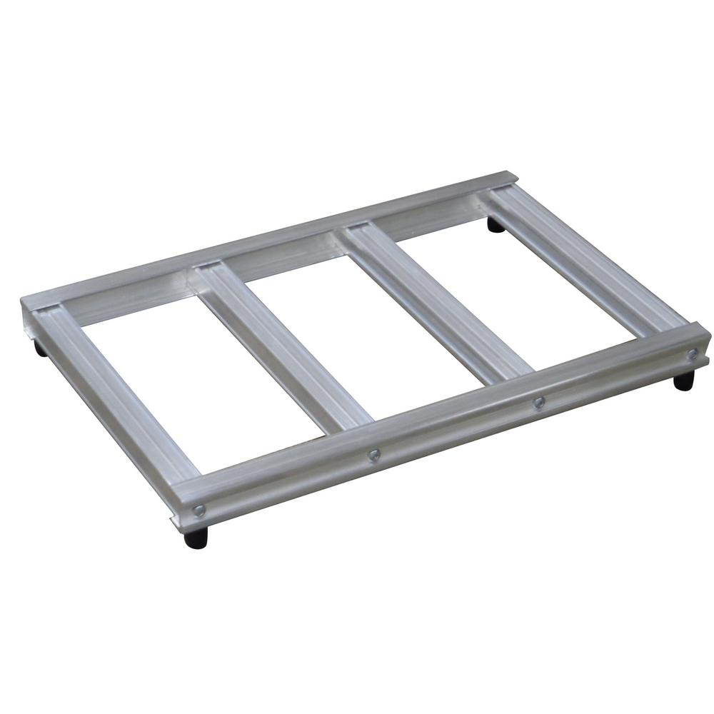 500 lb. Capacity 18 in. Wide Opening Mini Pallet for Hand