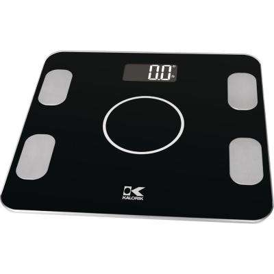 Bluetooth Electronic Body Fat Scale in Black