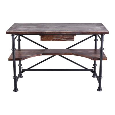 Arnold Rustic Pine Office Table