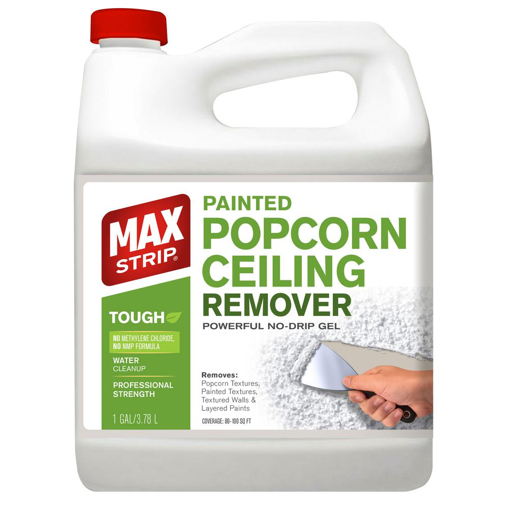 Max Strip 1 Gal Popcorn Ceiling Remover Esa 550 The Home Depot