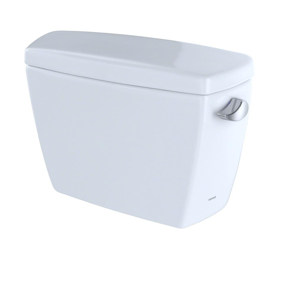 TOTO Drake 1.6 GPF Single Flush Toilet Tank Only with Right Hand ...