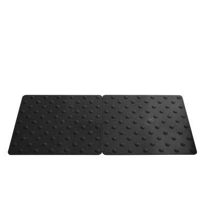 Novogrip Access Black 16-1/2 in. x 18 in. TPU Accessibility Mat