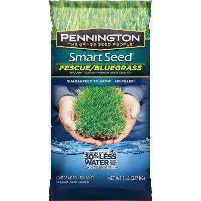 Smart Seed 7 lb. Fescue/Bluegrass Grass Seed Mix
