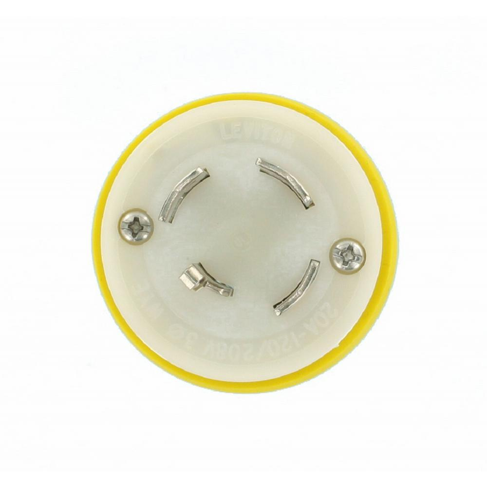 yellow-white-leviton-plugs-connectors-26w09-64_1000  Volt Receptacle Wiring on 240 volt receptacle wiring, 120 volt duplex receptacles, on 3 phase 240v single phase plug wiring, 15 amp receptacle wiring, 120 volt recessed lighting, 120 volt wall socket, 3 phase receptacle wiring, change over switch wiring, 480 volt receptacle wiring, a 240 volt breaker wiring, 480 volt 3 phase wiring, 20 amp 120 plug wiring, pid temperature controller wiring, 120 volt plug,