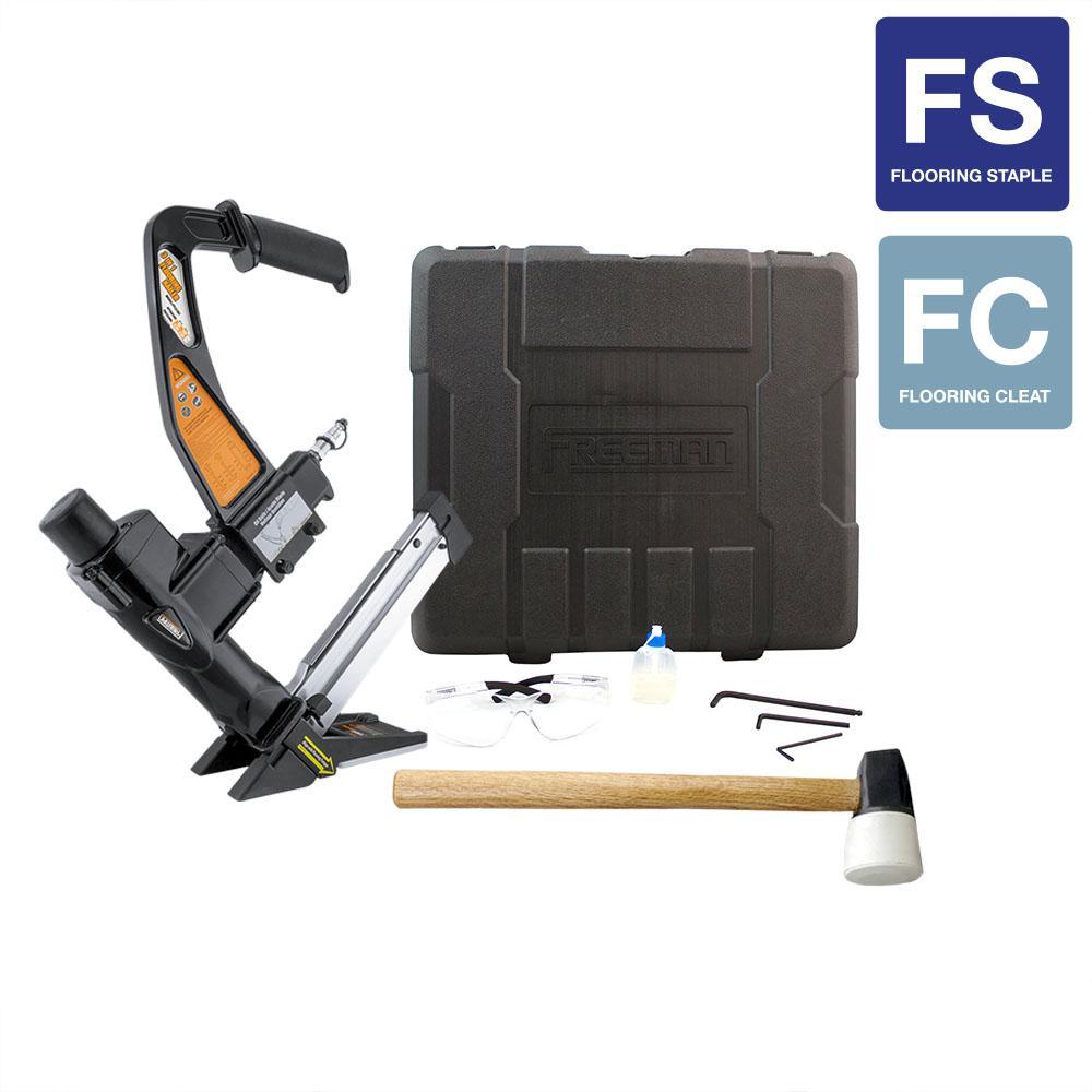 3-in-1 Flooring Air Nailer and Stapler