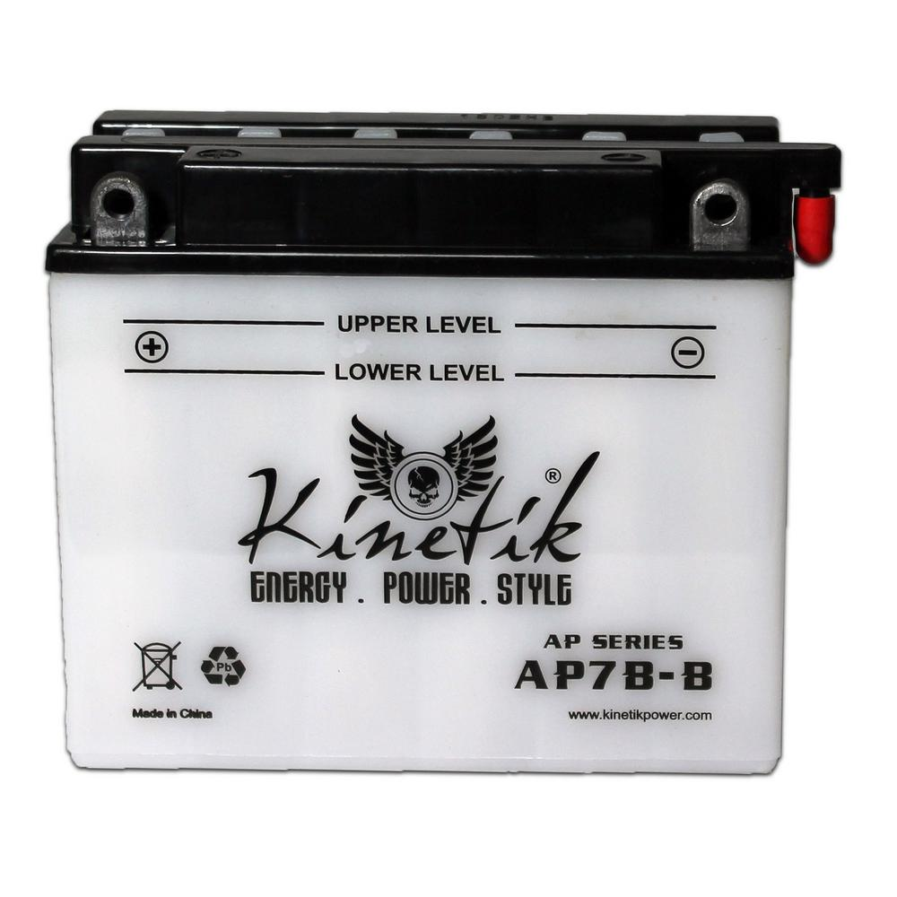 UPG Conventional Wet Pack 12-Volt 8 Ah Capacity F Terminal Battery