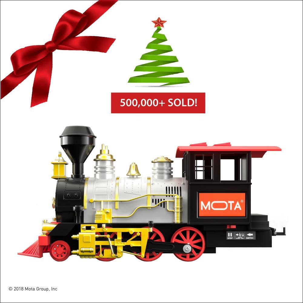 MOTA Classic Train Set with Smoke, Sound and Lights-CLASSICTRAIN ...