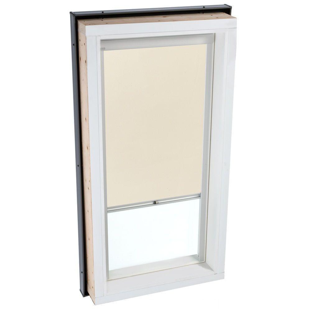 VELUX Beige Manually Operated Blackout Skylight Blind for FCM/QPF 2222 Models