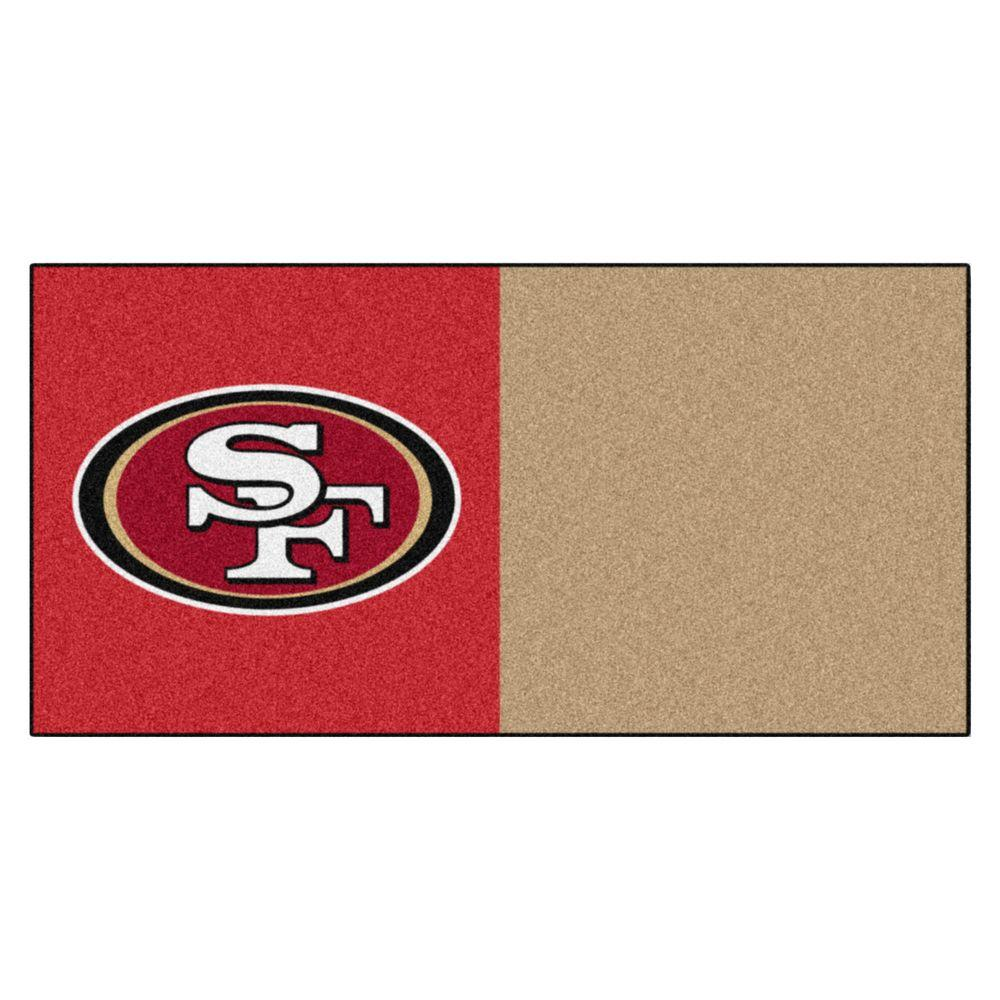 NFL - San Francisco 49ers Red and Gold Nylon 18 in.