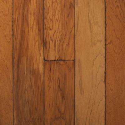 Artisan Hickory Sepia 3/8 in. x 4-3/4 in. Wide x Random Length Engineered Click Hardwood Flooring (22.5 sq. ft. / case)