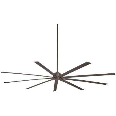 Xtreme 96 in. Indoor Oil Rubbed Bronze Ceiling Fan with Remote Control