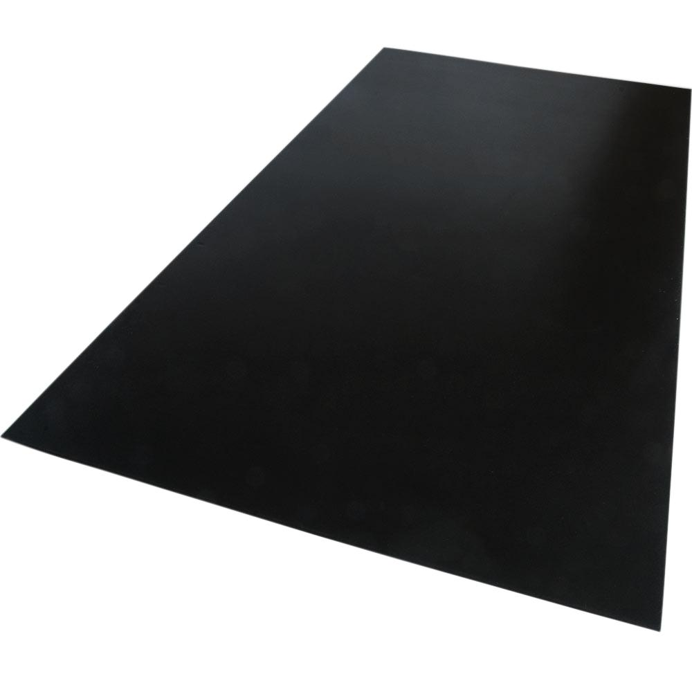 Palight ProjectPVC 12 in. x 12 in. x 0.79 in. Foam PVC Black Sheet