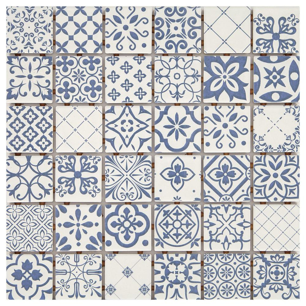 Marazzi Luxecraft Riviera 12 In X 6 35mm Glazed Ceramic Mosaic Tile 1 Sq Ft Piece