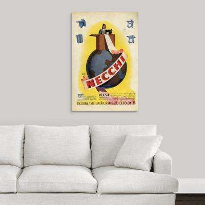 """""""Necchi Sewing Machine Advertisement"""" by Great BIG Canvas Canvas Wall Art"""