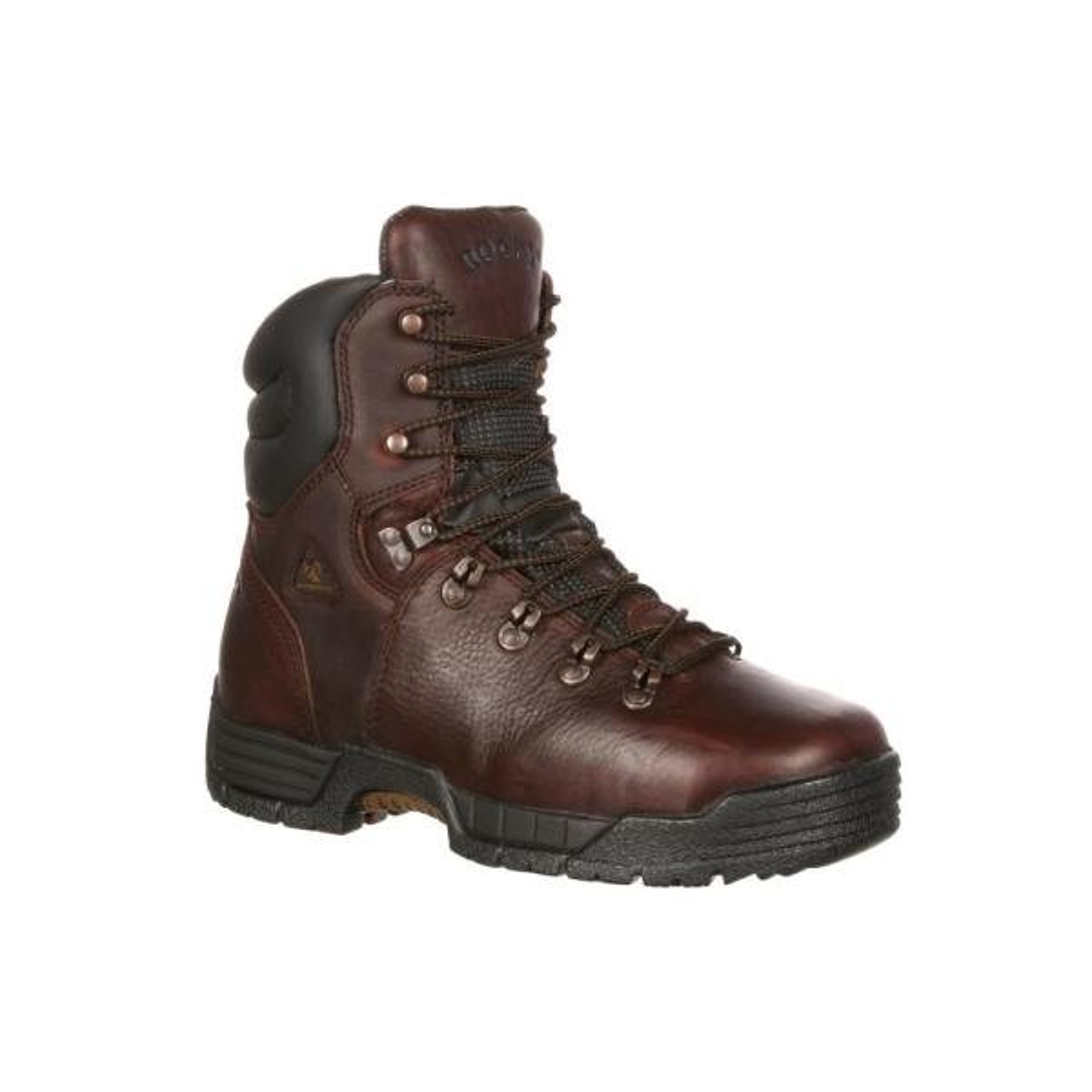 Work Boot - Steel Toe - Brown - Size