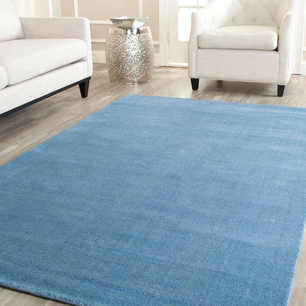 Himalaya Blue 8 ft. x 10 ft. Area Rug