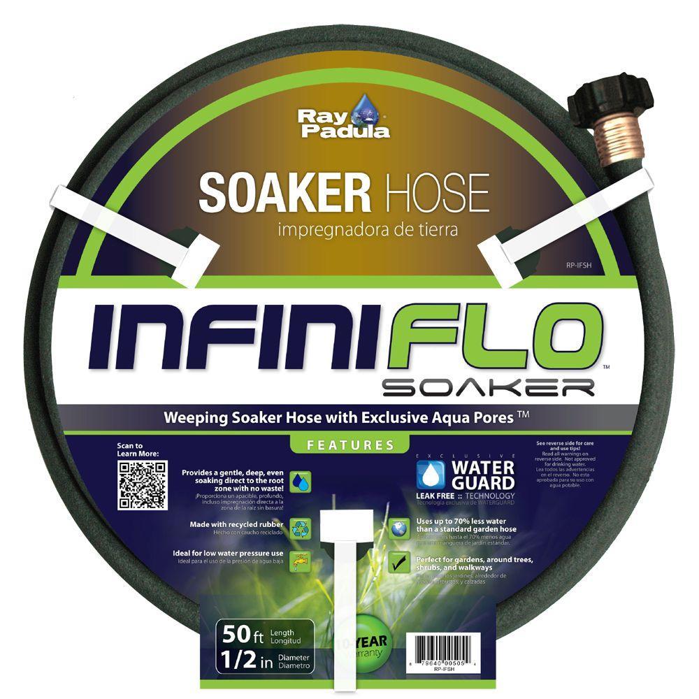InfiniFlo 1/2 in. Dia x 50 ft. Soaker Garden Hose