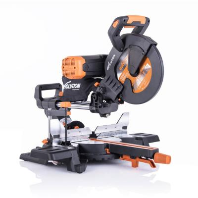 15 Amp 10 in. Dual Bevel Sliding Miter Saw with Laser Guide, Dust Bag, 13 ft. Power Cord, and 28-T Multi-Material Blade