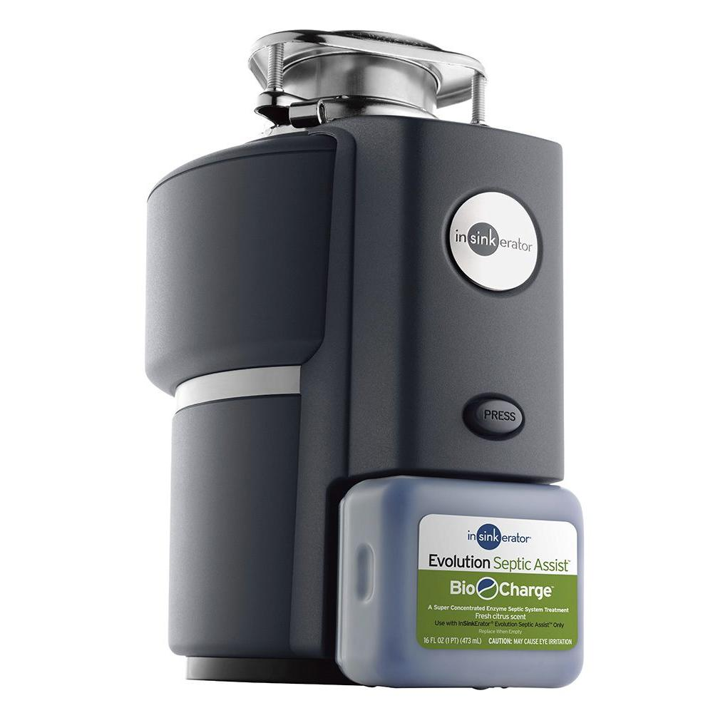 InSinkErator Bio-Charge Cartridge Replacement for InSinkErator Evolution  Septic Assist Garbage Disposals