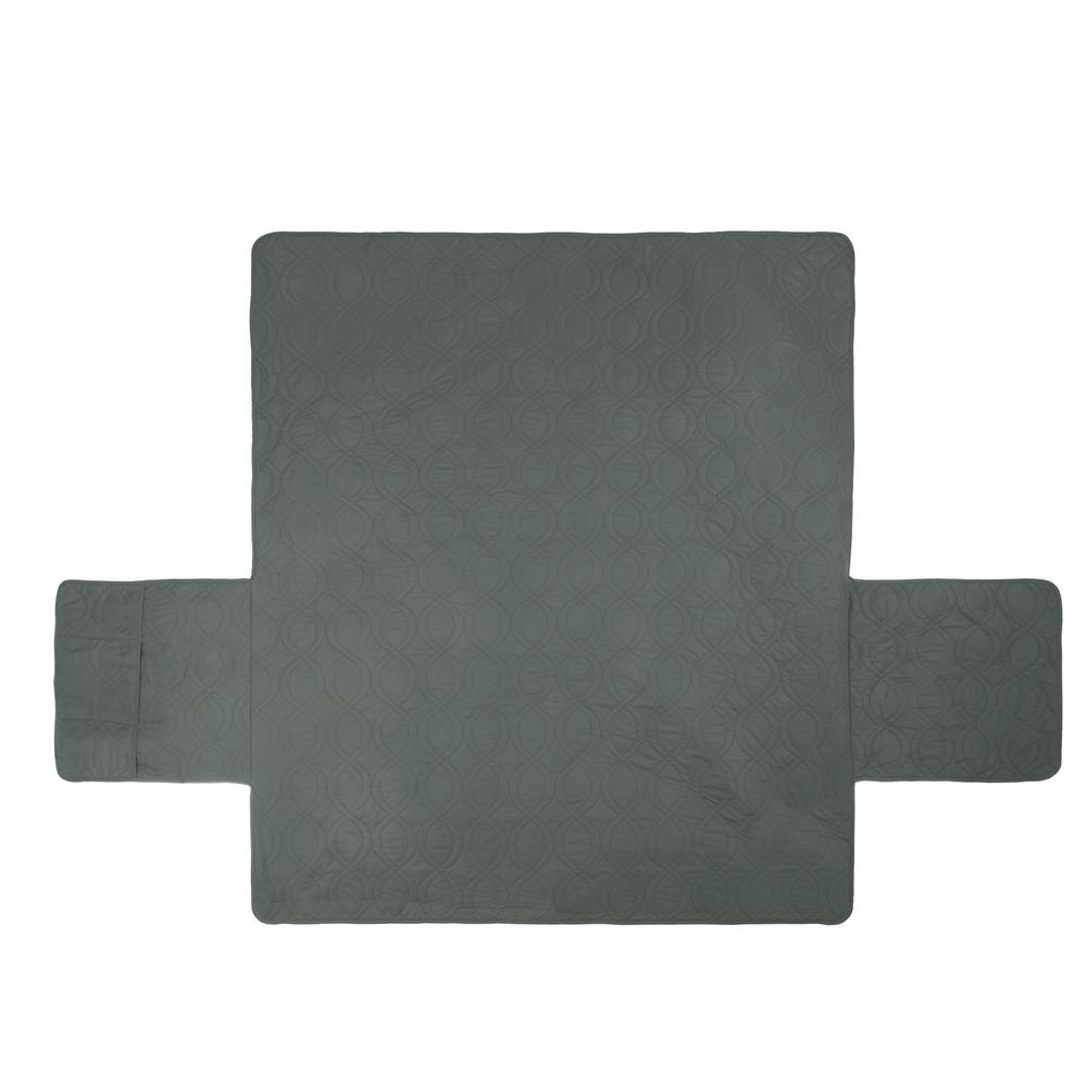 Petmaker Non Slip Gray Waterproof Sofa Slipcover