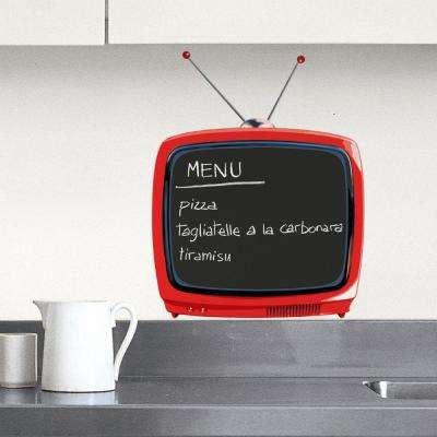 Multicolor Television Wall Decal