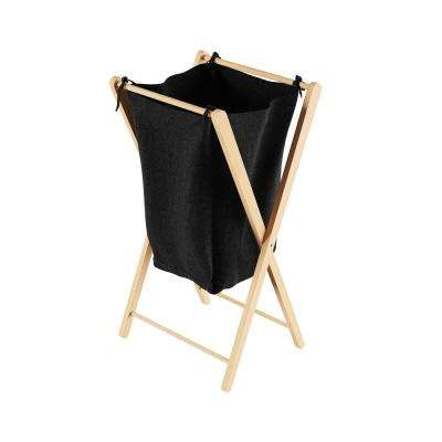 Collapsible Bamboo Laundry Hamper