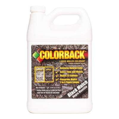 1 Gal. Black Mulch Colorant Covering up to 12,800 sq. ft.