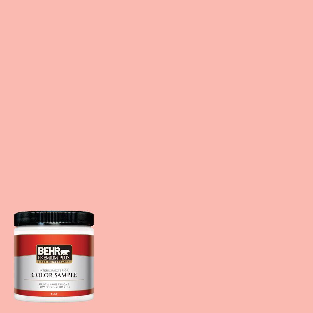 BEHR Premium Plus 8 oz. #170A-3 Ruffles Interior/Exterior Paint Sample