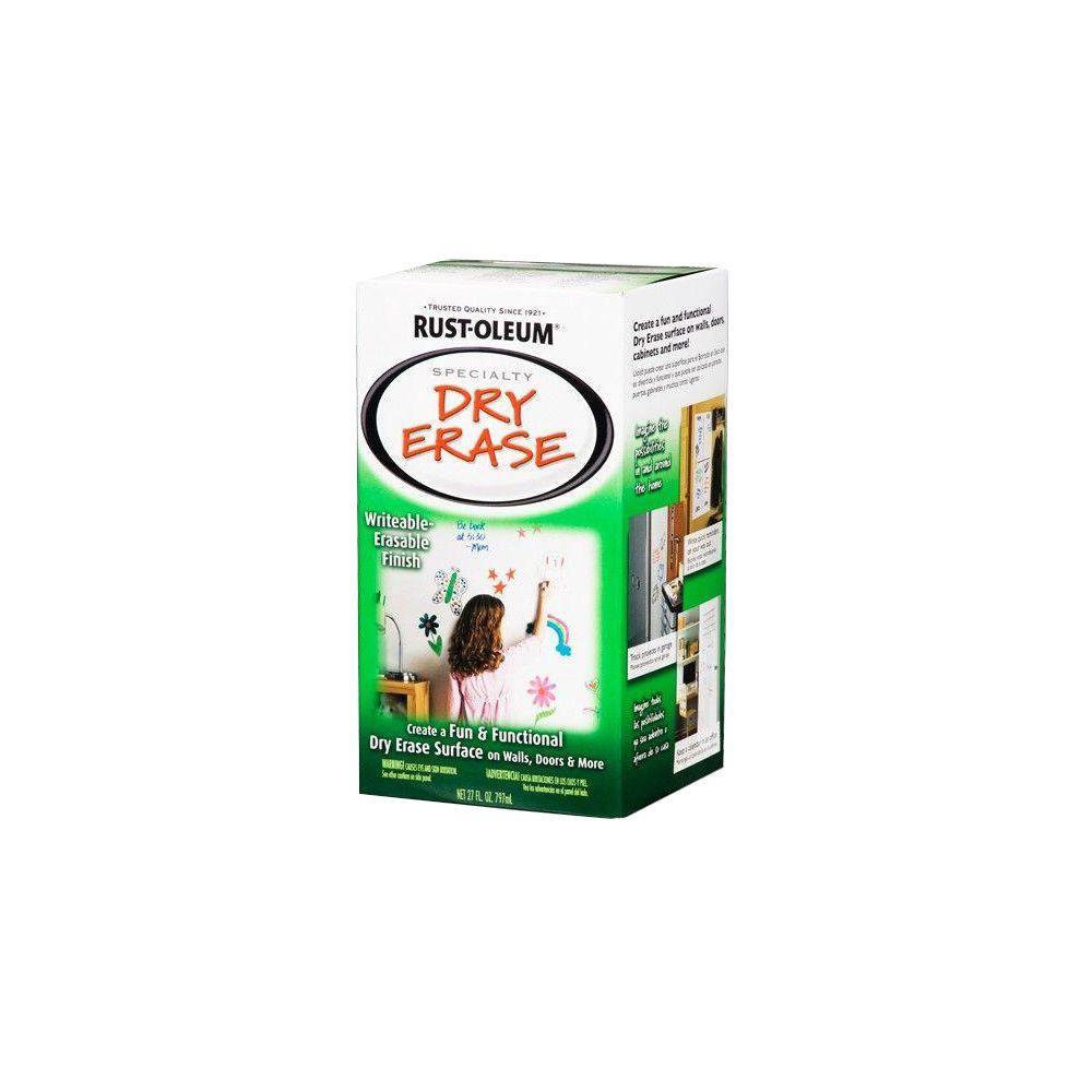 Rust-Oleum Specialty 27 oz. White Gloss Dry Erase Kit