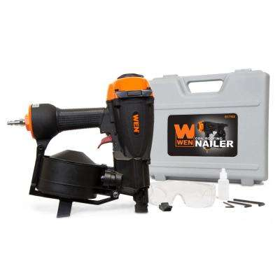 3/4 in. to 1-3/4 in. Pneumatic Coil Roofing Nailer