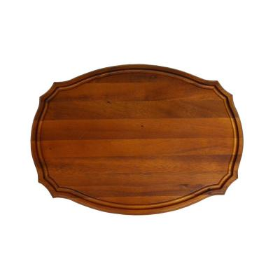 Scranton 15 in. x 11 in. Oval Wood Cutting Board