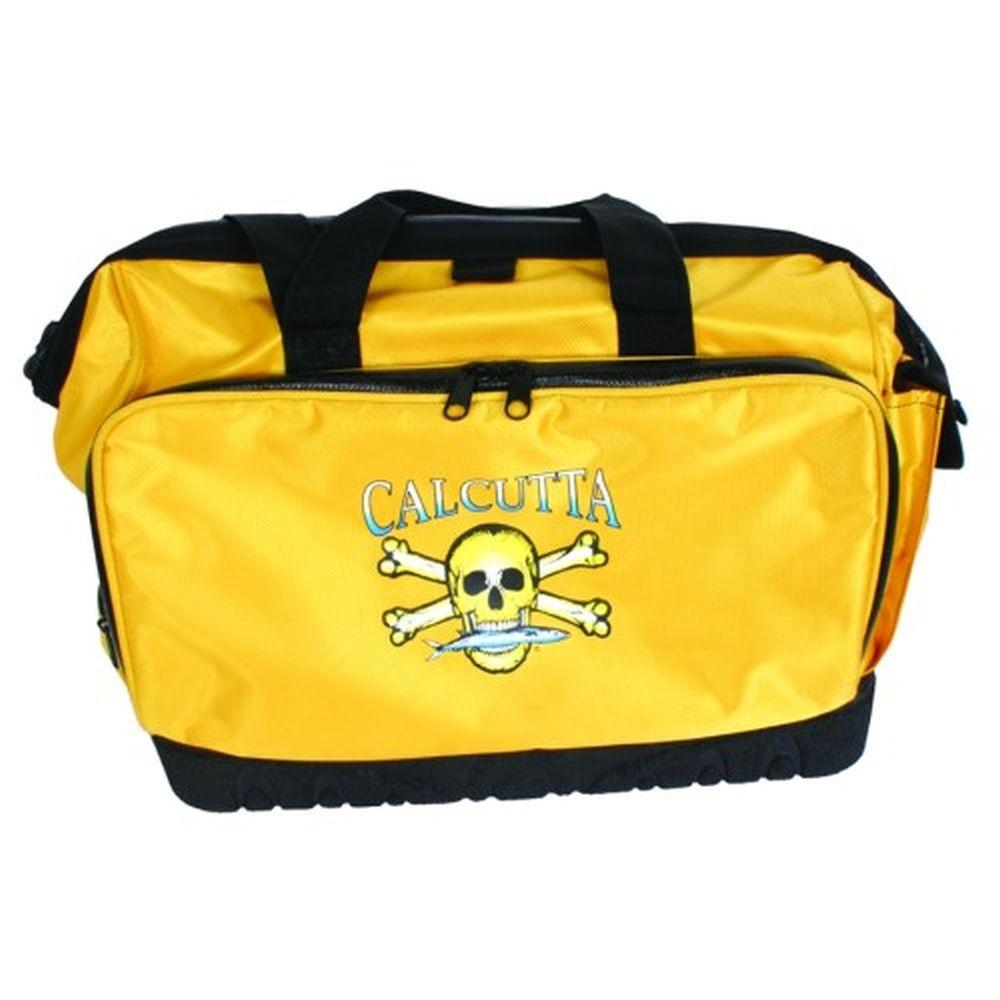 Big Rock Sports Squall Black and Yellow Tackle Bag with 4...
