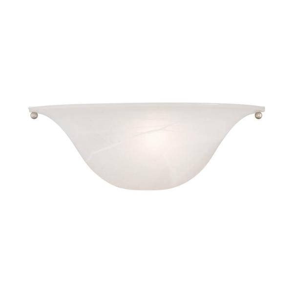 Wynnewood 1 Light Painted Satin Nickel Wall Sconce