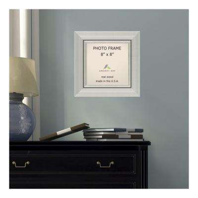 Romano 8 in. x 8 in. Silver Picture Frame
