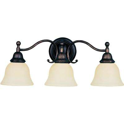 Soho 3-Light Oil-Rubbed Bronze Bath Vanity Light
